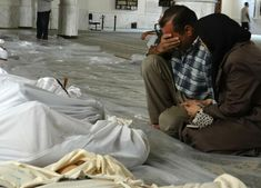 """Syrian war: Reports of chlorine gas attack on rebel-held Eastern Ghouta. A chlorine gas attack has been carried out on a besieged rebel-held enclave on the outskirts of the Syrian capital Damascus, reports say.  People in the Eastern Ghouta region, which is under daily bombardment, reported a smell of gas after a missile strike, the BBC has learned. """"The inhabitants of the city are all underground, living in the basement or the cellars because of such heavy bombardment."""