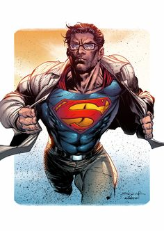Clark Kent Superman by AlonsoEspinoza