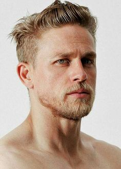 Mens Hair and Beard, actor Charlie Hunnam