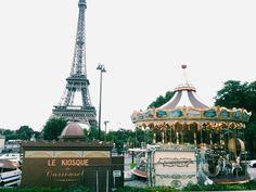 #paris #france #gloomy #eiffel