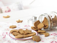Delicious and slightly chewy Ginger Biscuits are also great fun to make, as your child will enjoy rolling out dough