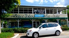BridgeTender restaurant and bar in Bradenton Beach on Bridge Street~ great views of the Bay from the bar and grill side.