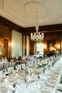 Romantic New York Wedding at Sleepy Hollow Country Club from CLY by Matthew - wedding reception idea