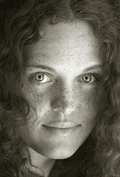 Portrait of Maria in B - a Black-and-white-portrait by Bahman Farzad, via Flickr