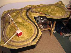 E-Z track layout