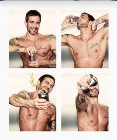 Marc Jacobs....new ambassador for Coca Cola Light