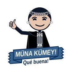 Múna Kúmey! / Qué Buena! Language, Culture, Fictional Characters, Block Prints, Frases, Fabric Patterns, Language Arts, Fantasy Characters