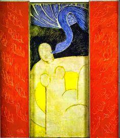 Leda y el cisne. Matisse