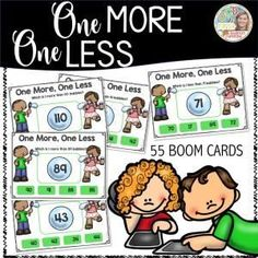 Boom Cards - One More One Less