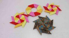 Origami Ninja Stern falten   modularen Stern selber machen   Spielzeug &…