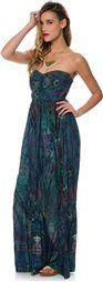 ELEMENT BELIZE STRAPLESS MAXI DRESS > Womens > Clothing > MAXI Dresses | Swell.com