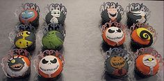 Awesome Nightmare cupcakes