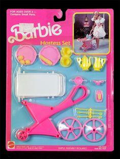 Barbie Hostess Set by Mattel