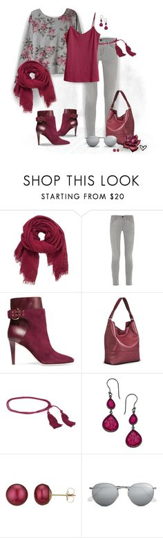 """~Eight Sixty~ Rose Floral Sweater ~"" by justwanderingon ❤ liked on Polyvore featuring Eight Sixty, maurices, Frame Denim, Jimmy Choo, Cecilia Pradomurion, SKU Jewelry, A B Davis, Ray-Ban, H&M and floralsweater"