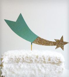 Shooting Star Cake Topper | Collections Showers and Celebrations | By Madeline Trait | Scoutmob Shoppe | Product Detail