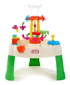 Look at this Little Tikes Fountain Factory Water Table on #zulily today!