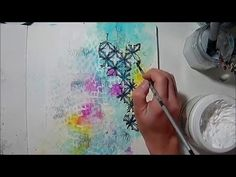 Art journal page by Athanasia - YouTube