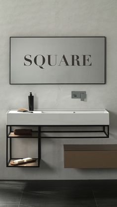 [𝗡𝗘𝗪 𝗜𝗡] Pure geometric lines and a marked personality. Practical but detailed taps, such as its limiter reduces water consumption by up to per minute. Available in black matt and chrome. Space Saving Bathroom, Small Bathroom, Bathrooms, Bathroom Sink Design, Bathroom Interior, Handicap Bathroom, Access Bars, Minimal Bathroom, Vanity Design