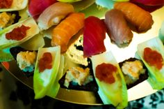 sushi, catering event