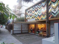 A fachada da Padarie, em Porto Alegre.