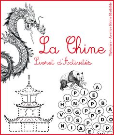 Activity booklet on China selection of books Avenue Reine Mathilde New Year's Crafts, Crafts To Do, Montessori Activities, Activities For Kids, Chinese New Year Activities, Chinese Crafts, School Themes, Best Teacher, Preschool Crafts
