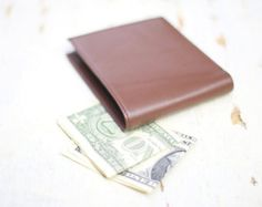 Your place to buy and sell all things handmade Brown Wallet, Leather Wallet, Great Gifts, Handmade, Stuff To Buy, Hand Made, Amazing Gifts, Craft