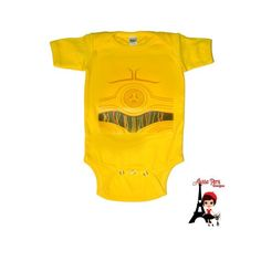 Pin for Later: 26 of the Best Star Wars Halloween Costumes Ever Baby C-3PO This C-3PO onesie ($15) is good as gold for an infant Star Wars fan!