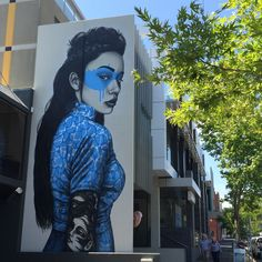 """Shinoya"" by Fin DAC, Middle Brighton, Victoria, Australia Brighton Melbourne, Victoria Australia, Sketch Design, Murals, Street Art, Middle, Fictional Characters, Wall Paintings, Mural Painting"
