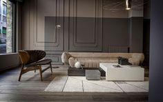 baxter baxtermadeinitaly tactile vincenzo de cotiis sofa leather