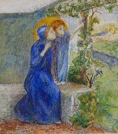 Elizabeth Siddal (British, Madonna and child Elizabeth Siddal, Pre Raphaelite Paintings, Child Please, John Ruskin, Madonna And Child, Small Words, View Image, Auction, British