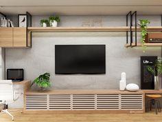 Shelf Furniture, Home Decor Furniture, Furniture Design, Living Room Tv, Small Room Bedroom, Office Interior Design, Home Decor Inspiration, Home Office, Living Room Designs