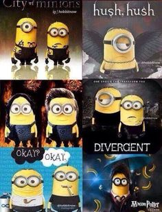 Minions as characters from some of our favorite books!