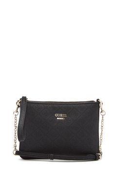GUESS Shantal Quattro G Cross-Body Black. NADAKI · Handbags 592b4f092fbc6