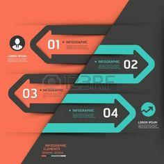 ワークフローのレイアウト、図、番号のオプション、ビジネス ステップ オプション、バナー、web デザインの近代的なビジネス矢印インフォ グラフィック テンプレート イラストを使用することができます。 photo