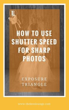 Easy to understand explanation of how shutter speed affects exposure. Take control of your camera to produce consistently well exposed images. Click through to read the full tutorial on shutter speed and the exposure triangle. Dslr Photography Tips, Photography Lessons, Photography Backdrops, Photography Tutorials, Digital Photography, Photography Lighting, Travel Photography, Photography Business, Newborn Photography