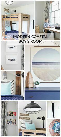 Modern Coastal Boy's