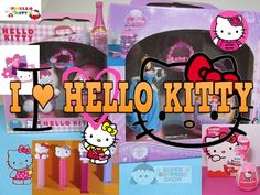 "HELLO KITTY Unboxing HELLO KITTY, PEZ, DRINKS, TOYS, SWEETS ""Sleeping By..."