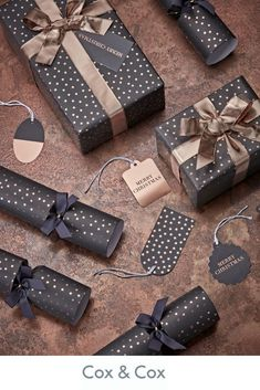 Mini Stars Wrapping Paper - Copper - Wrap Ribbon and Tags - Christmas Present Wrapping, Creative Gift Wrapping, Wrapping Paper Design, Gift Wrapping Paper, Luxury Christmas Wrapping Paper, Rose Gold Gifts, Gift Box Design, Gift Wraping, Star Gift