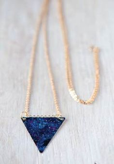 Need a Cool Accessory? Try This DIY Galaxy Necklace