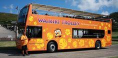 Waikiki Trolley Double-Decker Tour Bus