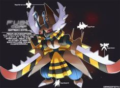 F.U.S.E Corp Special: Mega Scizidross by Dragonith