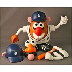 Detroit Tigers Mr. Potato Head #Tigers #Detroit #PotatoHead