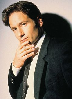 David Duchovny/Fox Mulder he is absolutely brilliant in his performances in his most noted series The X Files and a series of movies and made a comeback with Californication. You wonder what his next move will be because he's capable of a wide range of characters but doesn't need to get too typed casted from his previous characters.