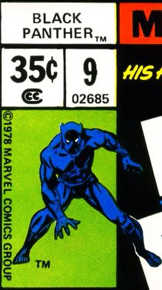 Marvel corner box art - Black Panther