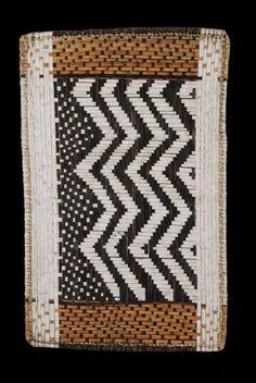 Braided Mat Losa - Mbole / Mongo - DRC Zaire - Knitted Mat
