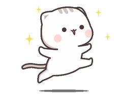 Cute Bunny Cartoon, Cute Kawaii Animals, Cute Cartoon Pictures, Cute Love Cartoons, Kawaii Cat, Cute Love Pictures, Cute Love Gif, Cute Cat Gif, Cute Bear Drawings