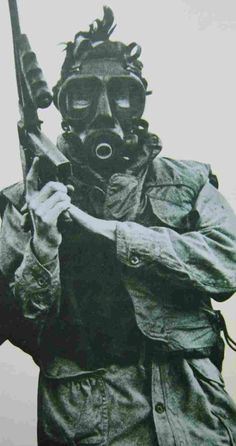 Provisional IRA member with Thompson submachine gun, Northern Ireland Troubles, Irish Republican Army, Post Apocalyptic Fashion, Images Of Ireland, Graffiti, Fighting Irish, Freedom Fighters, Military History, Military Gear