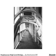 Stephensons High Level Bridge, Newcastle Upon Tyne Gallery Wrapped Canvas
