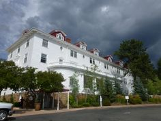 Stanley Hotel where the movie Shinning with Jack Nicholson was filmed.  Estes Park N. Colorado.