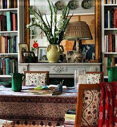 Carolina Irving's Paris apartment, Cabana Magazine, photographed by Miguel Flores Vianna.